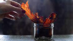 Domácí jerky krok za krokem: Jak dlouho ho nechat v troubě nebo v sušičce Flank Steak, Meat, Food, Skirt Steak, Essen, Meals, Yemek, Eten