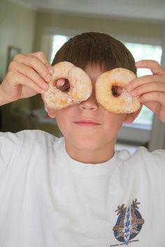 Bread machine donuts