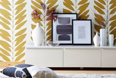 A new wallpaper book from Scion is Lohko. Large and small scale patterns in fashion forward colors. It's a fun book. Hall Wallpaper, Harlequin Wallpaper, Wallpaper 2016, Damask Wallpaper, Tree Wallpaper, Wallpaper Samples, Geometric Wallpaper, Wallpaper Designs, Dragonfly Wallpaper