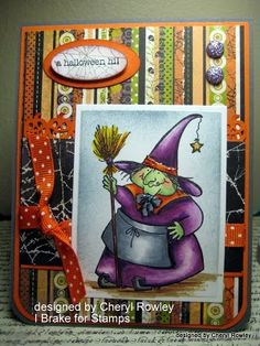 Cheryl Rowley: Cottage Creations: A Halloween Hi!