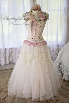 Shabbyfufu Originals Dressform Mannequin...