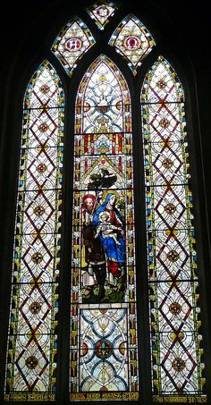 Church - St Mary the Virgin, Chipping Norton 140410 [South aisle, West window] 01