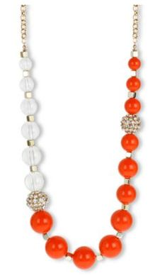 #chunky multi bead necklace  necklaces #2dayslook #new #necklaces #nice  www.2dayslook.com