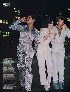 This couple is pissed that someone else showed up wearing a pantsuit, and that it was better than theirs. I had forgotten just how bad fashion was in the And the moustaches! Disco Fashion, Bad Fashion, 60s And 70s Fashion, Retro Fashion, Vintage Fashion, Mens Fashion, Fashion Styles, Fashion Boots, Moda Disco
