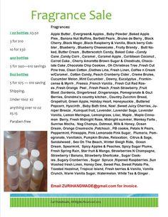 Twitter / ZuriHandmade: #FragranceOil sale starts Friday ...