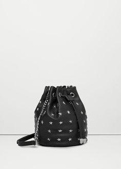 Studded bucket bag -  Women | MANGO USA