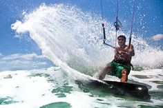 ZaiAragon---kitesurfing Niagara Falls, Waves, Kitesurfing, Inbound Marketing, Nature, Outdoor, Accessories, Outdoors, Naturaleza