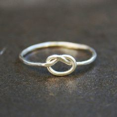 Pretzel Ring - Sterling Silver - $25.00