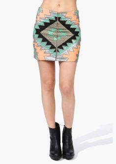 I am in love with pencil/mini skirts