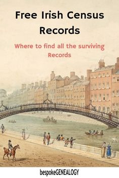 How to find Irish Censuses Free Irish Census Records. Where to find the surviving census returns for the whole of Ireland. Free Genealogy Records, Free Genealogy Sites, Genealogy Research, Family Genealogy, Ancestry Records, Genealogy Forms, Genealogy Chart, Ancestry Free, Genealogy Humor