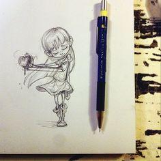 Mini doodle, Emilia Illustration.