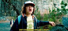 """""""Ella es nuestra amiga y está loca!"""""""