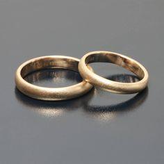 Classic wedding rings by Andrzej Bielak Inne Obrączki różowe złoto - Inne Obrączki www.inneobraczki.pl