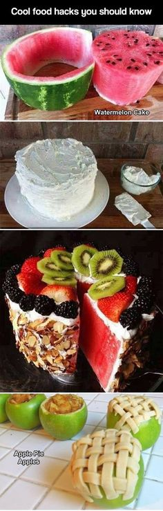 Food hacks everyone should know.  Now if   that frosting could be made of yogurt, you would have a very healthy   snack.