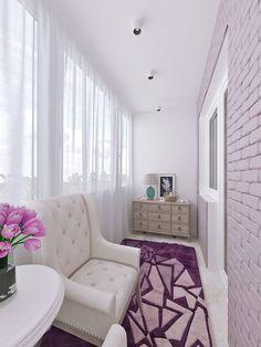 Лоджия. Дизайн интерьера четырехкомнатной квартиры в Колпино, 110 кв.м.