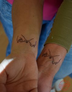 Pinky Swear matching Tattoo