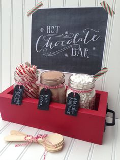 Hot Chocolate Bar Station Hot Cocoa Bar by SimpleSerendipity