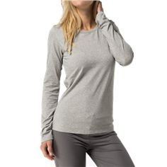 2979f9c7a7 Tommy Hilfiger Cotton Iconic Long Sleeve T-Shirt - Grey. Utility Bear · Women s  Loungewear