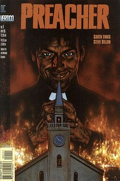 Preacher - Garth Ennis, assorted artists - the whole thing