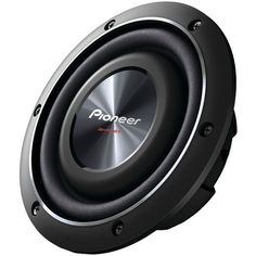 """Pioneer TS-SW2002D2 8"""" 600-Watt Shallow-Mount Subwoofer with Dual 2? Voice Coils"""