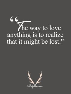 The Way To Love Quotes