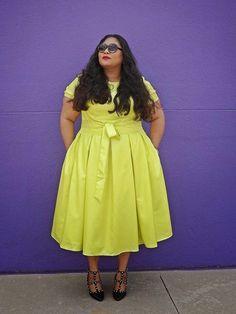 Plus size curvy big beautiful women . Ladies fashion styles
