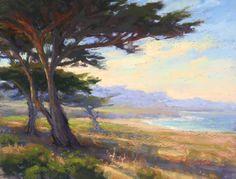 17 Mile Trio by Kim Lordier Pastel ~ 11 x 14