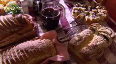 Anfitriã explica que alemães comem doce e salgado ao mesmo tempo