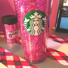 Doing this! Bedazzled Starbucks Tumbler