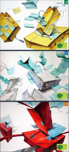금상 현승연 | 은상 전주영 | 동상 곽재영 Gestalt Laws, Teaching Materials, Art Lessons, Packaging Design, Art For Kids, Digital Art, Japan, Watercolor, Drawings