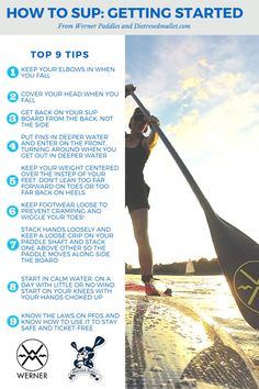 How to SUP tips