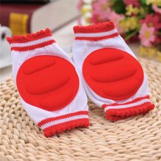 Baby Knee Pads Leg Warmers Baby Children Cotton Breathable Safety Crawling Elbow Cushion Baby Childish Knee Protector
