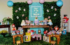 Encontrando Ideias: Festa Alice no Pais das Maravilhas!!