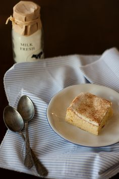 Pastel de tres leches - 3x Milch in einer Leckerei ~ Christina's Catchy Cakes