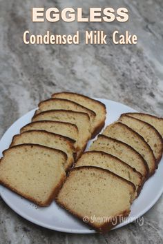 Eggless Condensed Milk Cake - Christmas Special Recipes