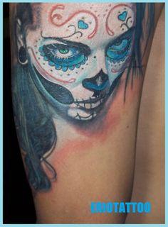 Camera tattoo   sAnTa muErtE tAtToO by ~eriotattoo on deviantART