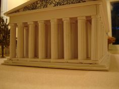 The Parthenon Athens Greece Model - Instructables Ancient Greek Architecture, Sustainable Architecture, Parthenon Athens, Architect Jobs, Athens Greece, Ancient Greece, Home Remodeling, My House, Building