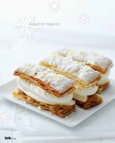 Köstliche Desserts, Delicious Desserts, Dessert Recipes, Yummy Food, Dutch Recipes, Baking Recipes, Sweet Recipes, Baking Bad, Vol Au Vent