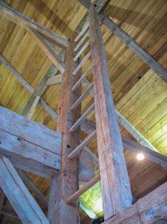 Whittier Heights Dutch Barn - Heritage Restorations | love this ladder...