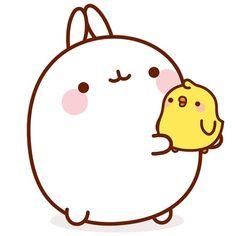 We sell Bunny-themed Merchandise ! Chibi Kawaii, Kawaii Anime, Anime Stickers, Cute Stickers, Cute Kawaii Drawings, Molang, Kawaii Wallpaper, Cute Cartoon Wallpapers, Aesthetic Stickers
