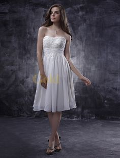 summer wedding dresses causual ivory | Home > Wedding Dresses > Strapless Wedding Dresses