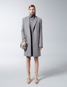 harpersbazaar.com - Reed Krakoff Pre-Fall 2013  I love it but I would prefer to have the turtle neck folded down on the neck.