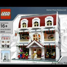 Lego Christmas Sets, Casa Lego, Lego Village, Construction Lego, Lego Boards, Lego Modular, Cool Lego Creations, Lego Moc, Lego Lego