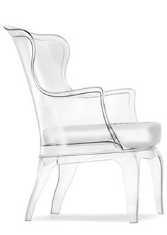 clear acrylic chair with white vinyl cushion victoria lyon interiors blog acrylic furniture uk