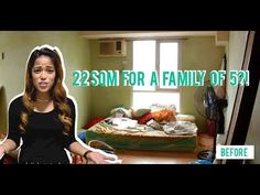 Throwback video (Posted last How can you fit a family of 5 in a small unit? This is the first vlo. Condo Interior Design, House Design, Studio Condo, Micro Apartment, Small Places, Condo Interior, Small House Design, Design Studio, Small Condo