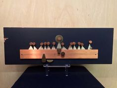c.1960s The Last Supper RARE Plaque Metal on Wood EMAUS Talleres Monasticos Abstract by Benedectine Monks of Cuernavaca by CompassionMatters502 on Etsy https://www.etsy.com/listing/254985046/c1960s-the-last-supper-rare-plaque-metal
