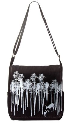 Small cotton canvas satchel bag with screen print design. Features interior mobile phone pocket and adjustable strap. All Gifts, Printed Bags, Satchel Bag, Online Gifts, Cotton Canvas, Screen Printing, Print Design, Folk, Shoulder Bag