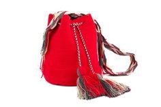 Cherry red mini mochila!