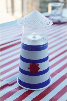 Nautical Baby Shower Party Ideas | Photo 5 of 28 | Catch My Party