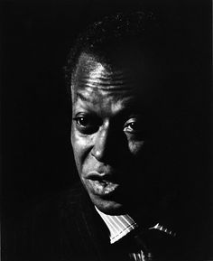 Miles Davis (1926-1991) - American jazz musician, trumpeter, bandleader, and composer.  © Photo by David Kennerly, 1966